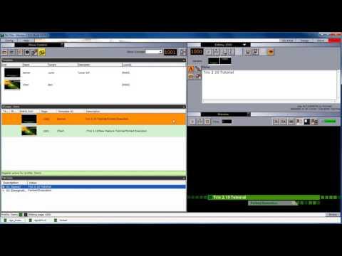 Forked Execution using Viz Trio 2.10