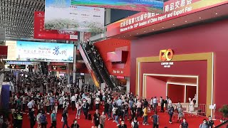 GLOBALink | Canton Fair attracts global businesses with good services, constant innovation