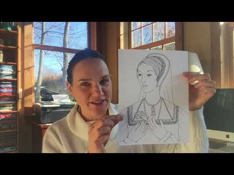 Colouring History: Tudor Queens And Consorts - Anne Boleyn
