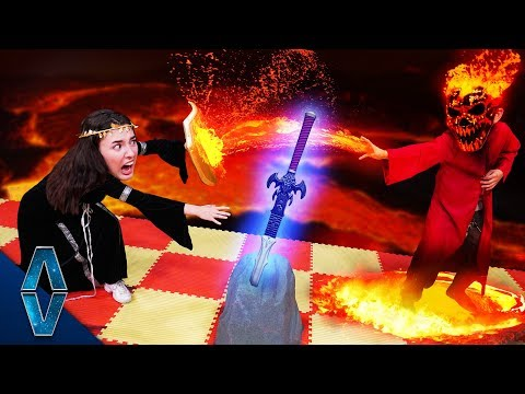 Lava Monster Showdown | NERF Dungeons And Dragons Ep. 4