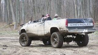 Strange 4x4 Mud Trucks - Spring Mudfest 2015 - Gopher Dunes Ontario Canada