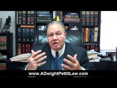 A Dwight Pettit - Personal Injury Disability Claims Slip and Fall Baltimore Maryland Lawyer