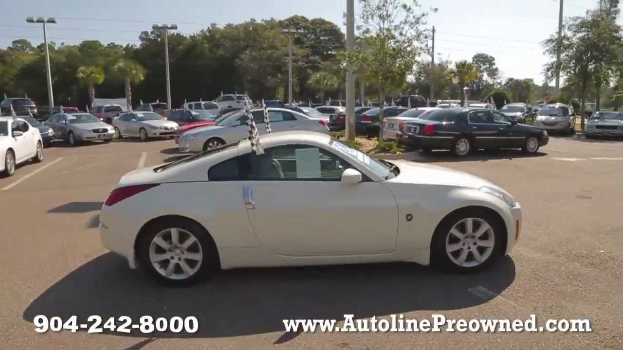 autoline's 2004 nissan 350z touring walk around review test drive