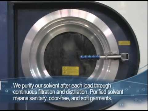 Curtis Cleaners - Dry Cleaning Process
