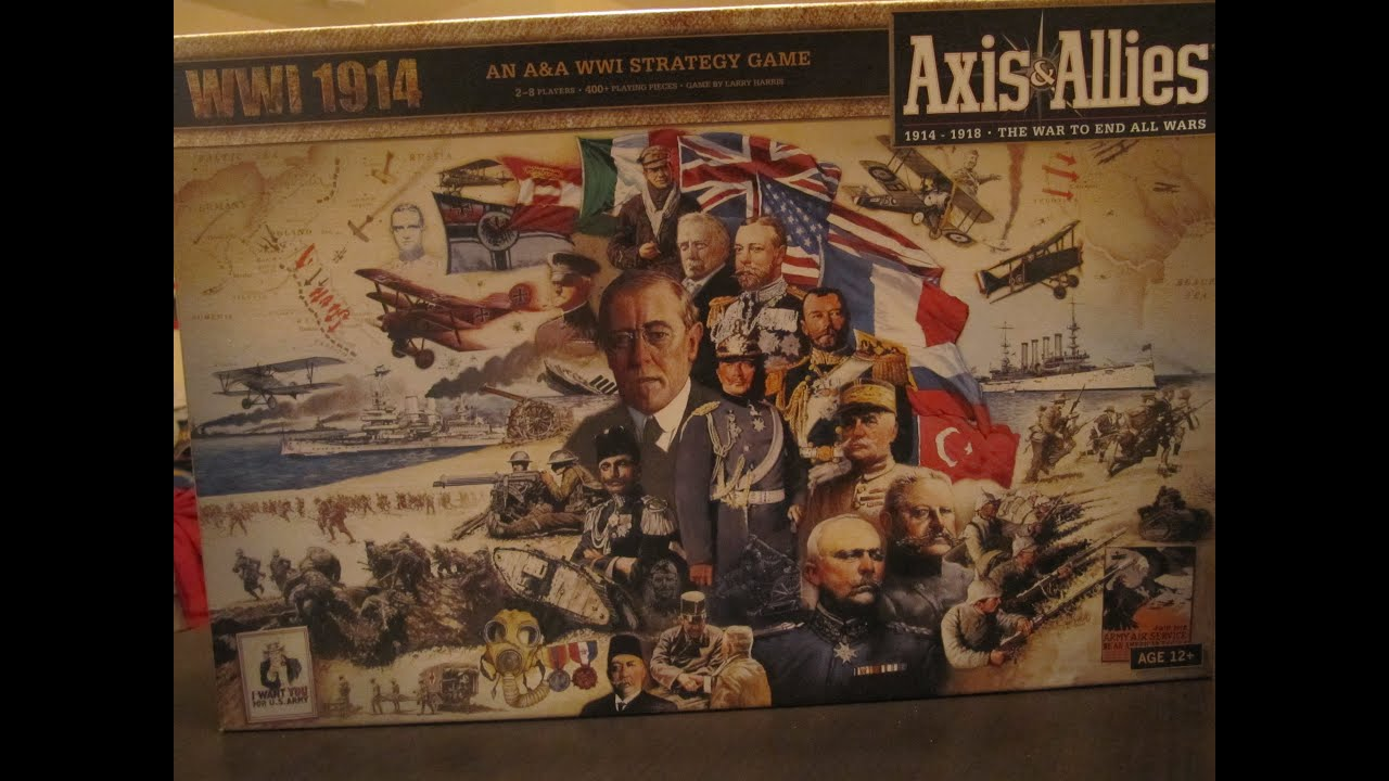 Axis & Allies WWI 1914: Rules, Photos, Video and more