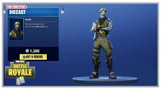 Fortnite: New Chromium And Diecast Skins, Persuader Pickaxe And Solid Strider Glider