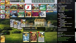 Dominion Online Championship Match Round 3 vs. aboisson1204