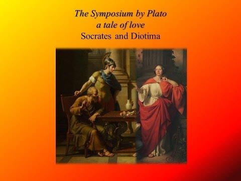 Socrates and Diotima from  Plato's Symposium