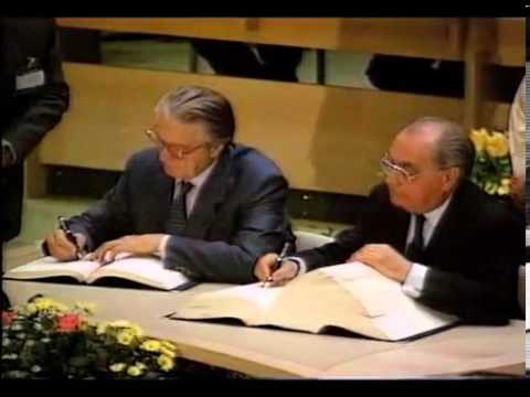 Signing of the Maastricht Treaty