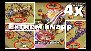 [331] Spannende 4 Fights | Queenwalk mit low Queen | Clash of Clans Deutsch COC