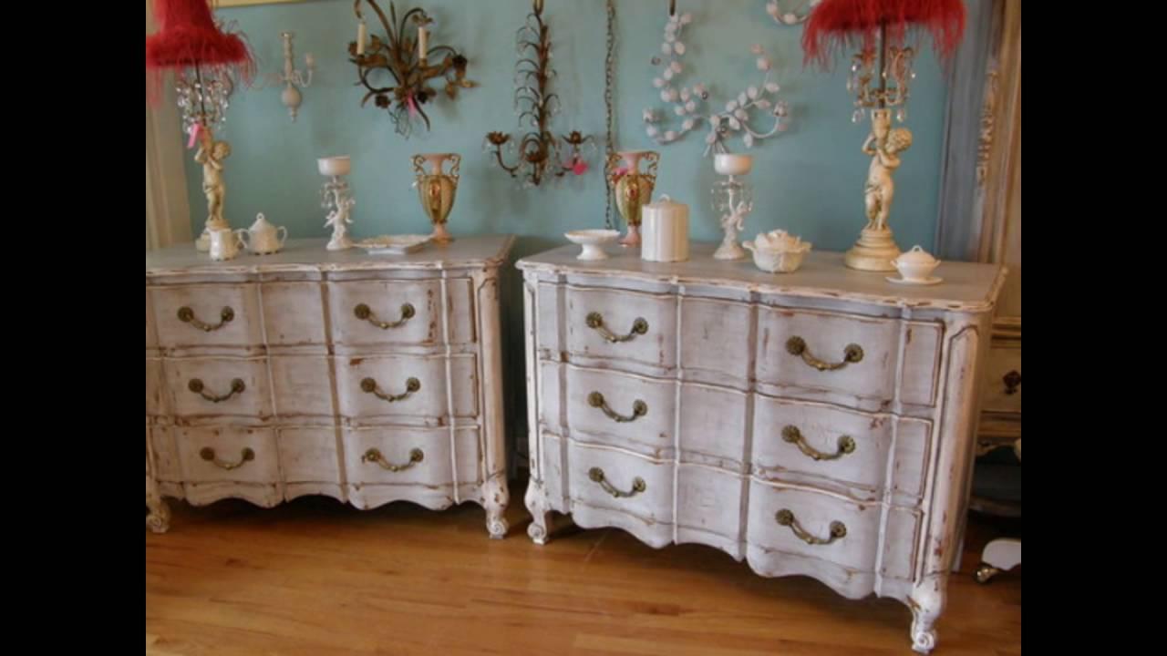 vintage distressed dresser - Vintage Distressed Dresser - YouTube