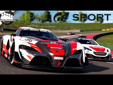 GRAN TURISMO SPORT - Toyota FT-1 Vision GT (Gr.3) @ Autodrome Lago Maggiore GP - Let's Play GT Sport