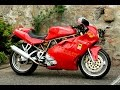 Ducati Super Sport 750 exhaust sound and acceleration compilation