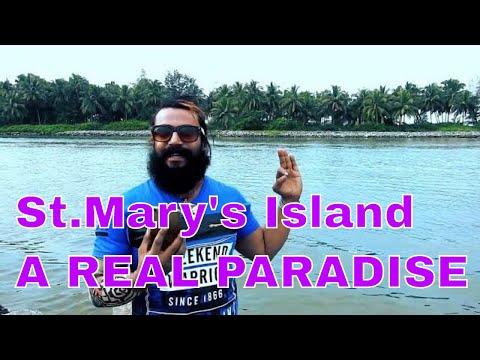 St.Mary,s Island -A REAL PARADISE-MALPE,UDUPPI,KARNATAKA(ಸೈಂಟ್ ಮೇರೀಸ್ ದ್ವೀಪ)MALAYALAM TRAVEL VIDEOS