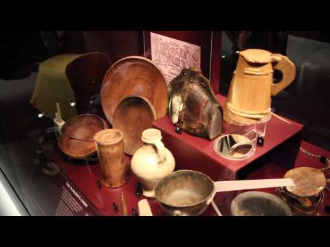 The Mary Rose - Tudor Woodwork and Leatherwork