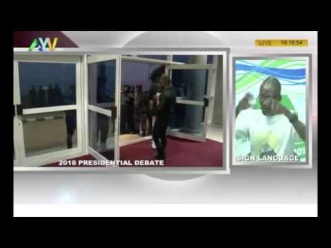 The Voice of the People: Sierra Leone presidential election debate