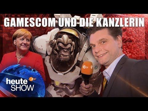 Lutz van der Horst auf der Gamescom 2017 | heute-show