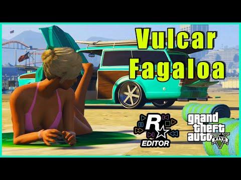 Vulcar Fagaloa On Bennys GTA 5 Rockstar Editor Car Showcase.