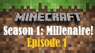 Seasons Are BACK! -  Minecraft: Season 1: W/ Millenaire Mod! - Episode 1