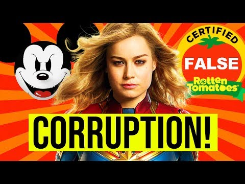 CAPTAIN MARVEL - PROOF! DISNEY MADE ROTTEN TOMATOES REMOVE USER RATINGS!