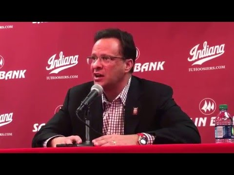 Tom Crean on Indiana win over Maryland