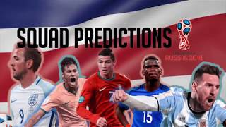 Costa Rica Squad Predictions for the 2018 World Cup