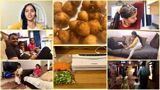 SAT&SUN VLOG/MOVIE TIME/VACCUM SEALER FOR FOOD/DOSA PINDI BONDALU/HAIR PACK FOR DRY HAIR/SUPER FUN🤣 Video