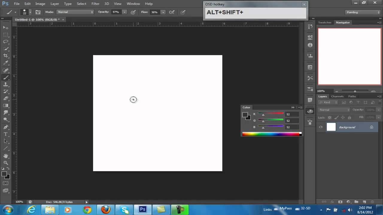 How To Add A Color Wheel To Photoshop Cs6 Youtube