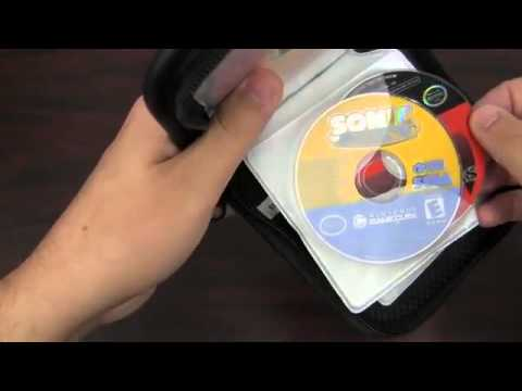 MAD CATZ NINTENDO GAMECUBE DISC WALLET Video Game Accessory Review