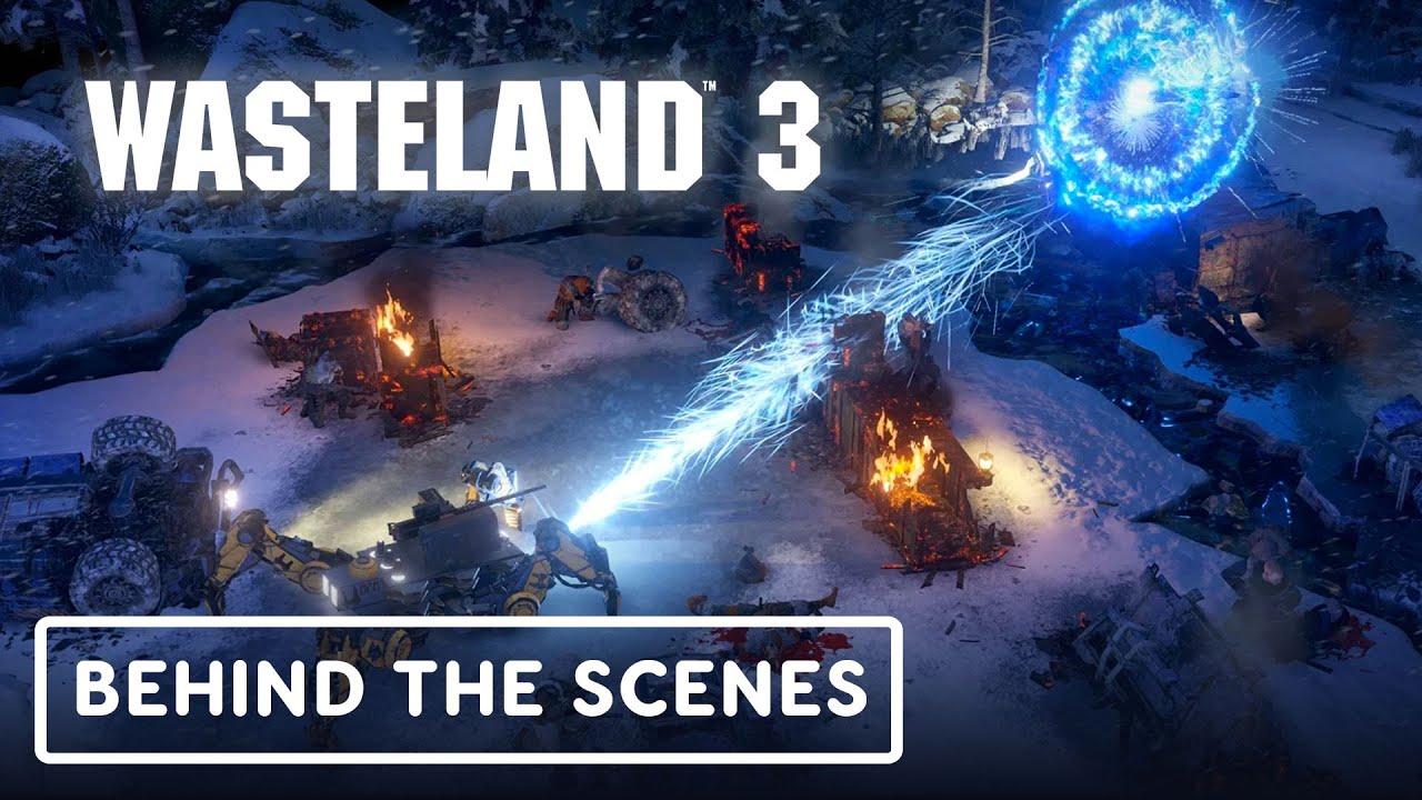 Wasteland 3 - Materias de elección del jugador (detrás de escena) + vídeo