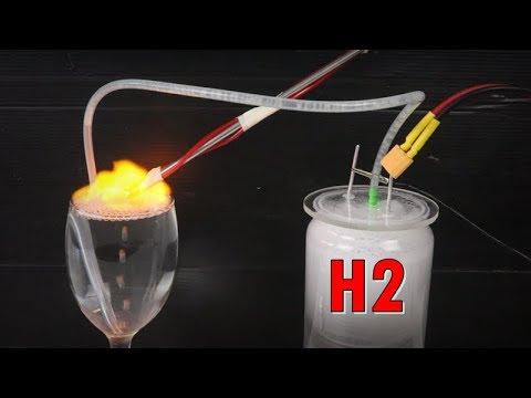 H2 เปลี่ยนน้ำให้เป็นพลังงานเชื้อเพลิง ง่ายๆ