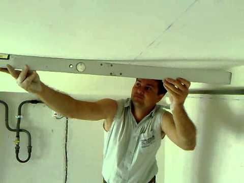 видео: ЖЕСТЬ какой КРИВОЙ гипсокартонный потолок, полный аут.