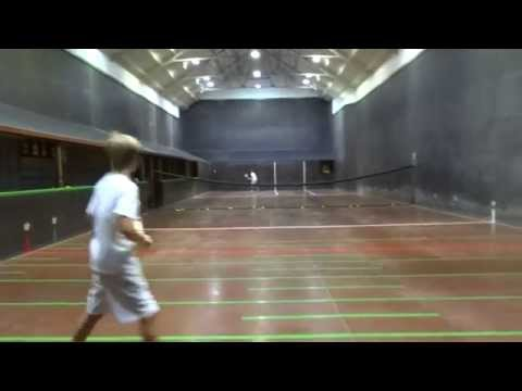 Real Tennis National Junior Singles A Grade Final 2014