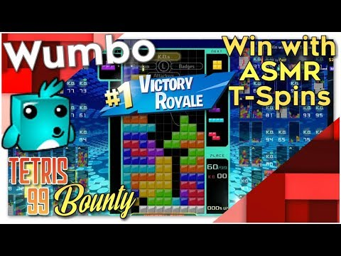 "Tetris 99 Bounty - ""Win with ASMR T-Spins"""