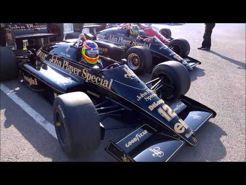 Classic Team Lotus at the Goodwood 72nd Members Meeting