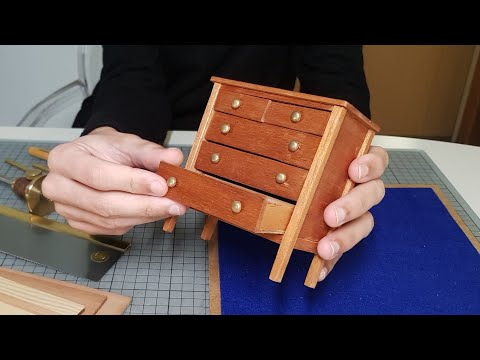 DIY Chest of Drawers - Traditional Style / Furniture in Miniature
