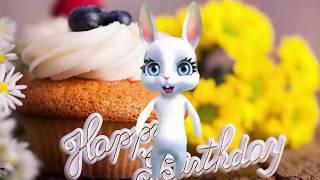 Открытки с днем рождения женщине анимация бесплатно. Видео открытки.