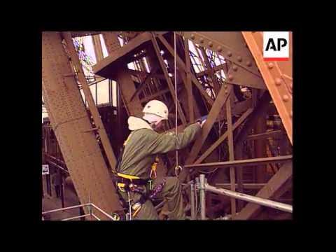 France - Eiffel Tower Re-Paint Job