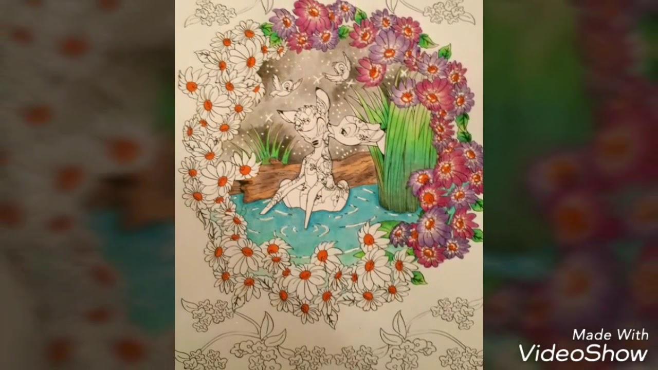 Présentation: mes coloriages réalisés - love story Disney, imagimorphia,  mythomorphia