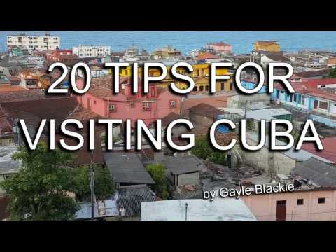 20 Travel Tips For Visiting CUBA - 2016 (holiday help, advic