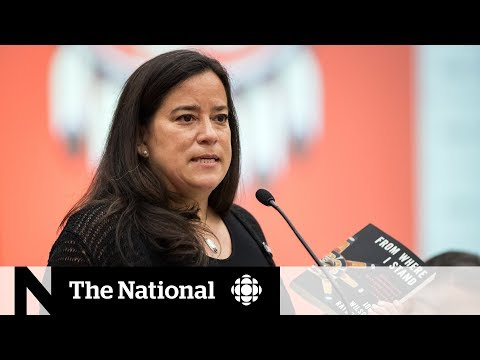 CBC News: The National: Jody Wilson-Raybould won't move out of minister's office