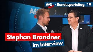 AfD-Parteitag | Stephan Brandner im Interview