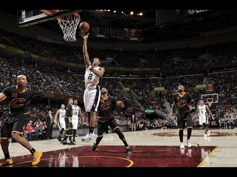 The Future of the San Antonio Spurs - Dejounte Murray and Kawhi Leonard vs. Cleveland Cavaliers