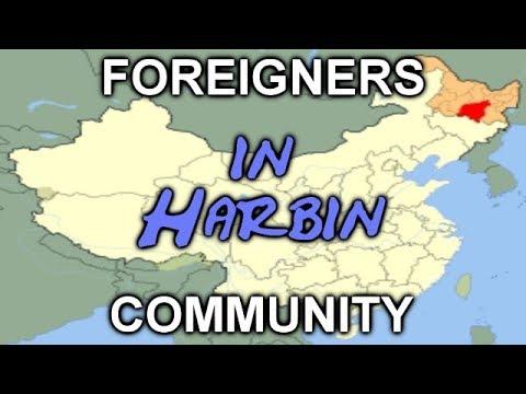 FOREIGNERS IN HARBIN - Ausländer in Harbin - GERMANS in Harbin - Deutsche in Harbin