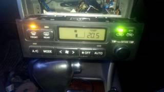 Обзор пульта управления от Toyota Camry Gracia на Toyota Corona Premio