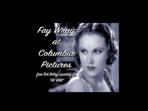 Fay Wray at Columbia Studios from Rick McKay