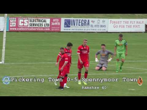 HIGHLIGHTS | Pickering Town 0-9 Spennymoor Town | 2017/18 Pre-Season