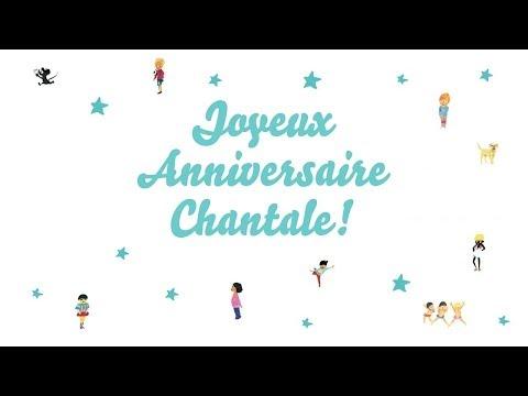 ♫ Joyeux Anniversaire Chantale! ♫