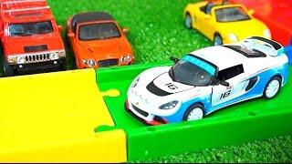Машины для детей. Все серии подряд без перерыва (Сборник)(Детский канал