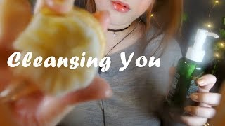 ASMR Cleansing  You ✨😊✨ 얼굴닦아주기 thumbnail